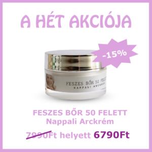 Feszes bőr 50 felett Nappali arckrém AKCIÓ -15%
