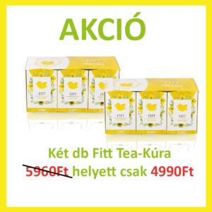 Fitt Tea-Kúra akció 2 db Fitt Tea-Kúra