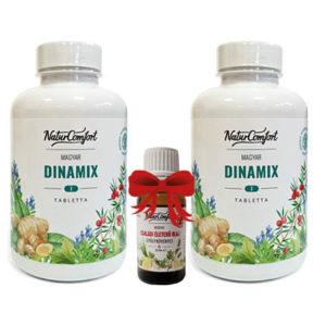Dinamix csomag ajándék 20 ml-es Családi Életerő olajjal