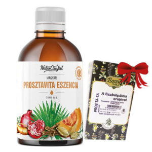 Prosztavita Eszencia ajándék Pros Ta-ta teakeverékkel